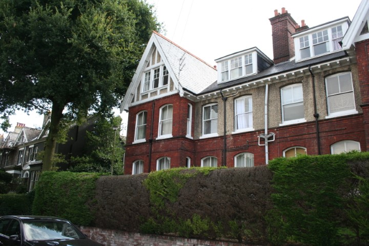 Flat E 56 Mill Hill Road front elevation (Small)