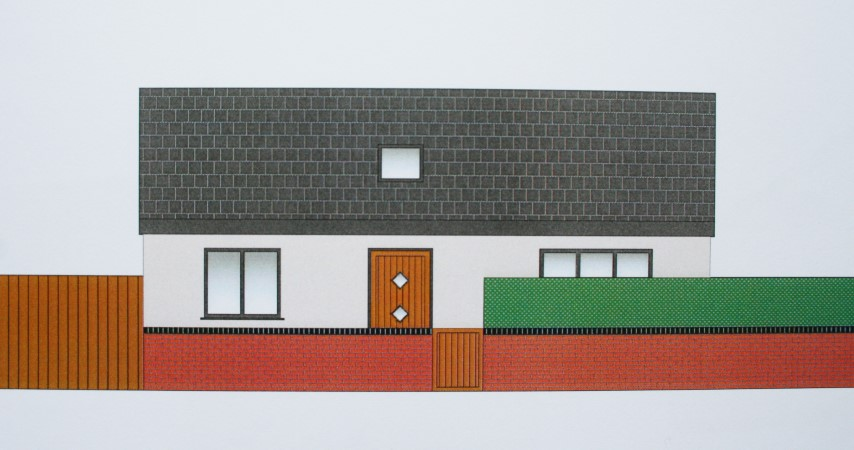 front elevation with boundary treatments (Small)